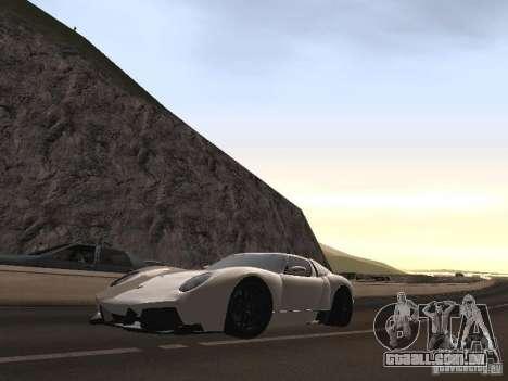 Lamborghini Miura LP670 para GTA San Andreas vista interior