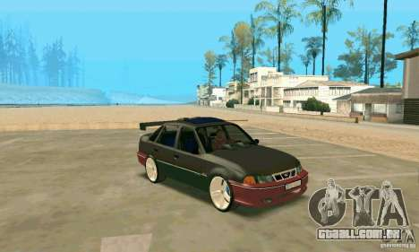 Daewoo Nexia Tuning para GTA San Andreas esquerda vista