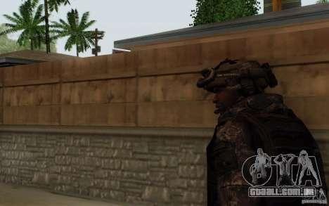 Sargento Foley de CoD: MW2 para GTA San Andreas terceira tela