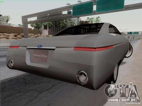 Ford Fortynine para GTA San Andreas esquerda vista
