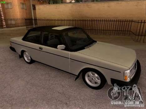 Volvo 242 Turbo para GTA San Andreas