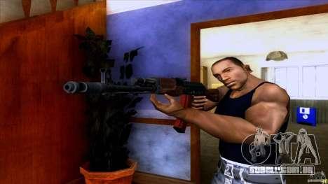 AK-74 para GTA San Andreas segunda tela