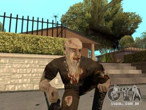 Pak peles de gótico 1 para GTA San Andreas oitavo tela