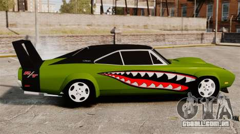 Dodge Charger RT SharkWide para GTA 4 esquerda vista