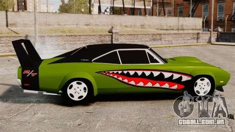Dodge Charger RT SharkWide para GTA 4 esquerda vista
