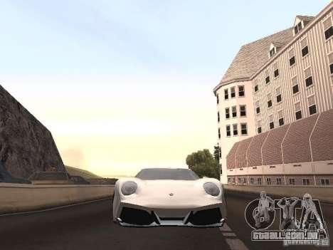 Lamborghini Miura LP670 para GTA San Andreas vista direita