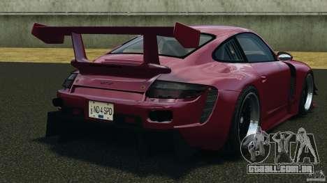 Porsche 997 GT2 Body Kit 2 para GTA 4 traseira esquerda vista