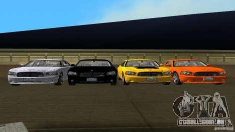 Dodge Charger RT para GTA Vice City vista lateral