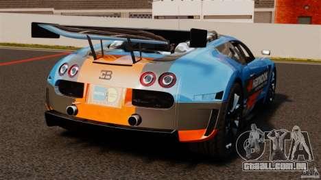 Bugatti Veyron 16.4 Body Kit Final para GTA 4 traseira esquerda vista