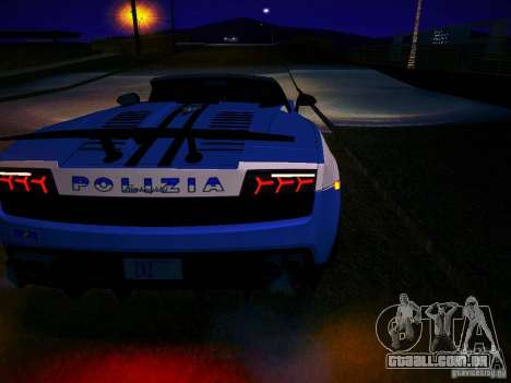 Lamborghini Gallardo LP570-4 Spyder Performante para GTA San Andreas vista direita