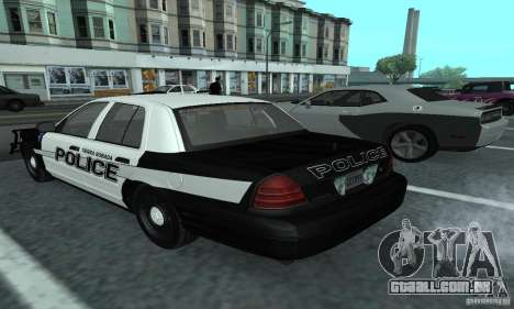 Ford Crown Victoria 2009 Slicktop para GTA San Andreas esquerda vista