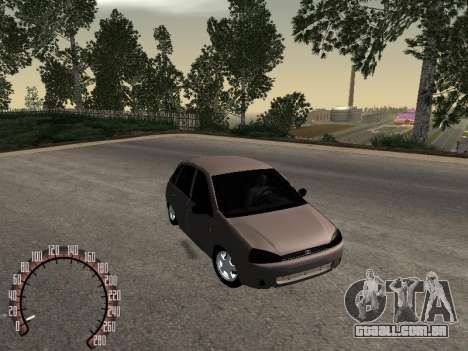 LADA 1119 para GTA San Andreas vista direita