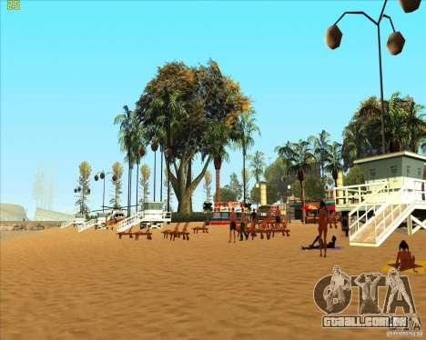 Modern beach in Los-Santos para GTA San Andreas segunda tela