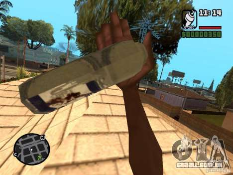 Lata de spray para GTA San Andreas segunda tela