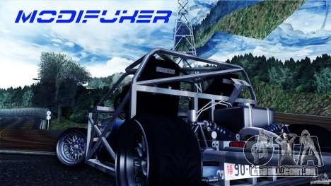 Mazda MX-5 Tube Frame para GTA San Andreas traseira esquerda vista