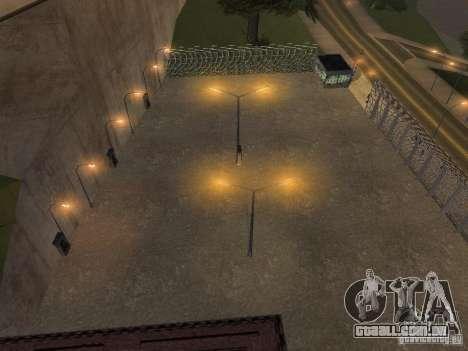 Ônibus Parque versão v 1.2 para GTA San Andreas por diante tela