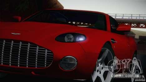 Aston Martin DB7 Zagato 2003 para GTA San Andreas traseira esquerda vista