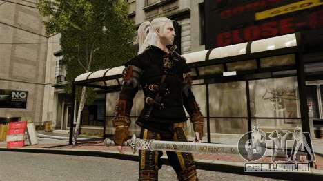 Espada do Witcher v1 para GTA 4 terceira tela