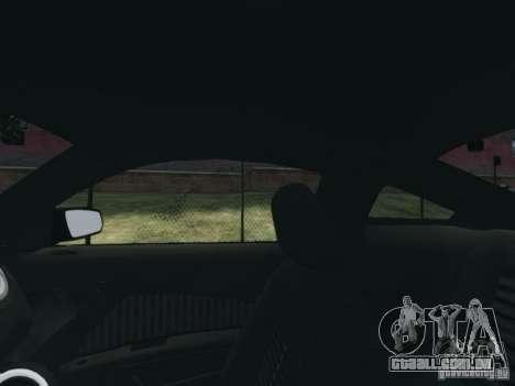Ford Mustang GT 2013 para GTA 4 vista lateral