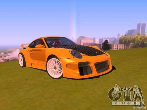 Porsche 911 Turbo Tuning para GTA San Andreas vista traseira