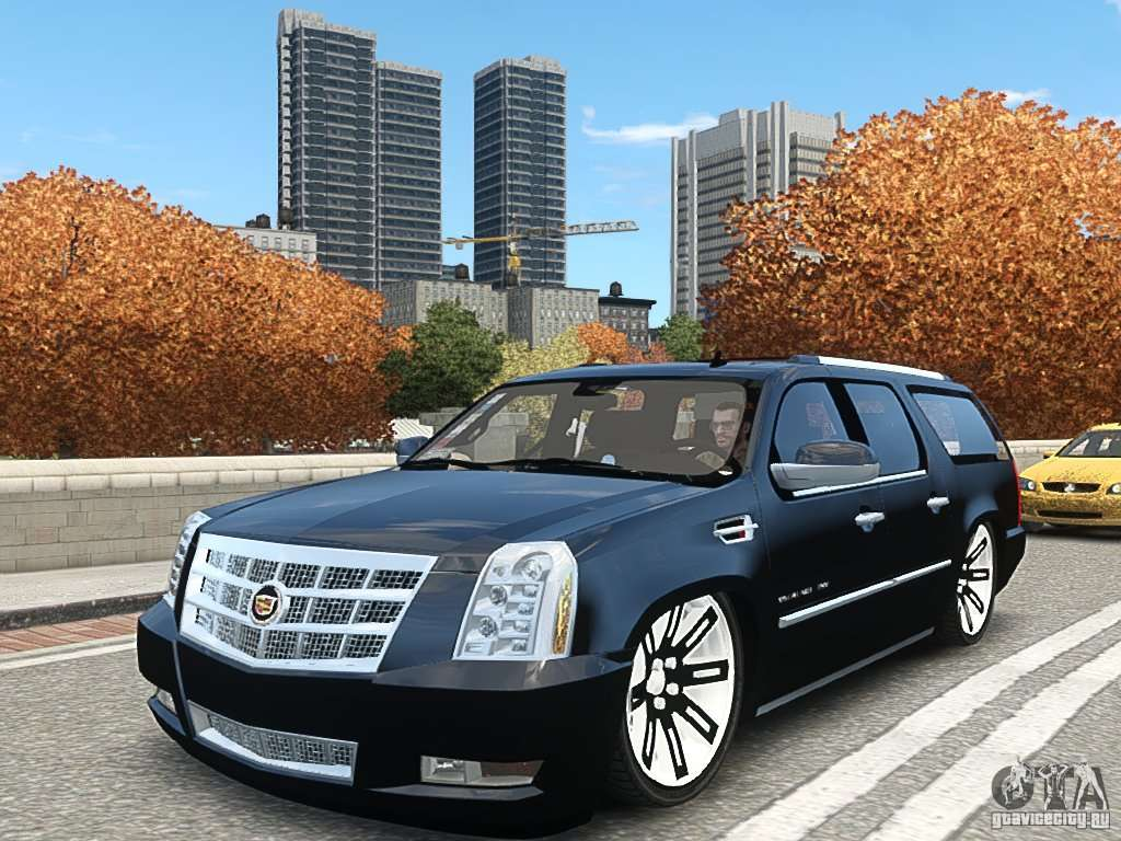 cadillac escalade esv 2012 dub para gta 4. Black Bedroom Furniture Sets. Home Design Ideas