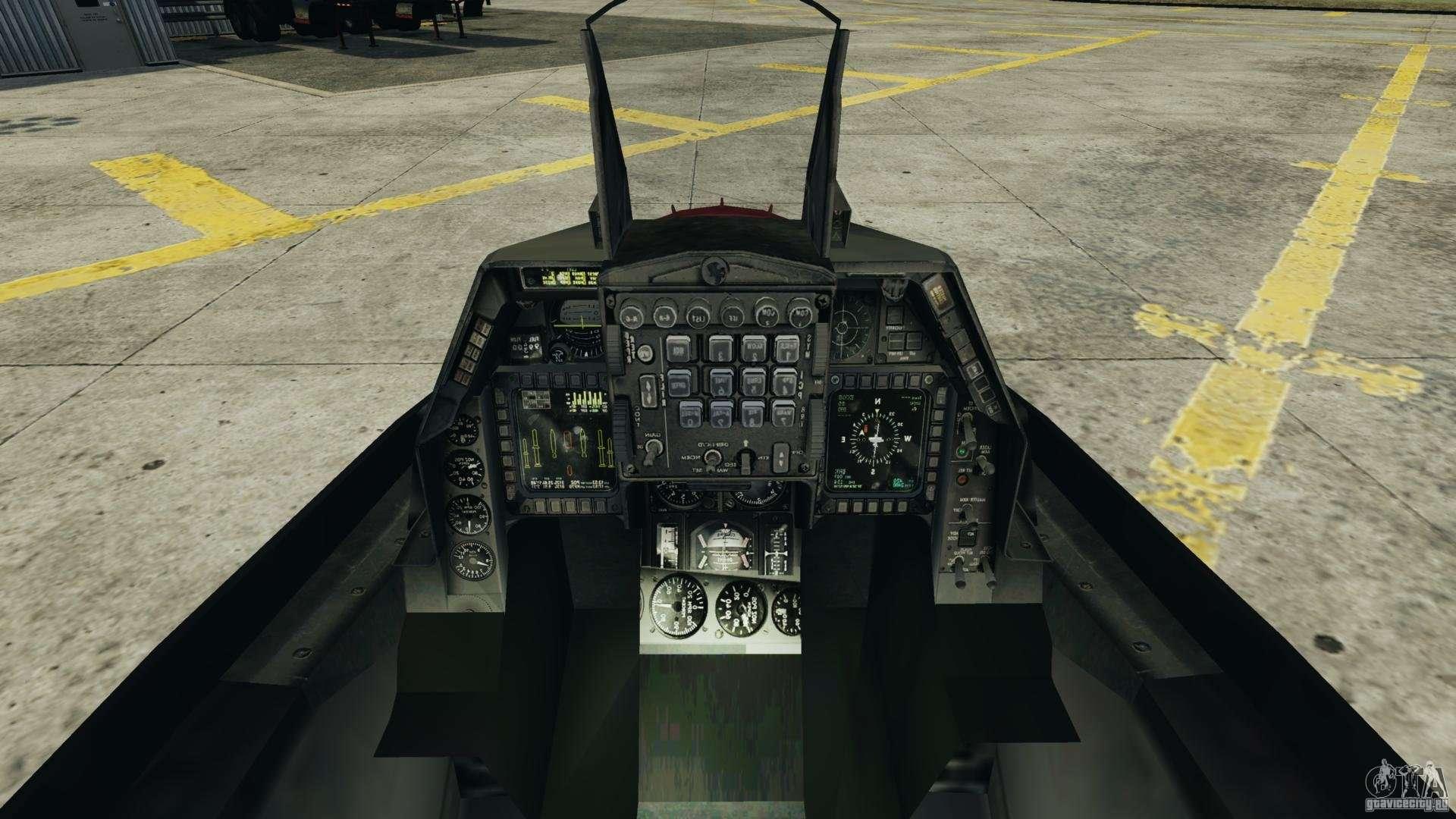 Fighterjet para gta 4 for Cabine disney forte deserto
