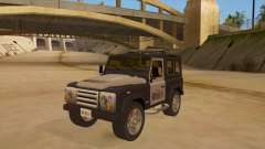Land Rover Defender Sheriff para GTA San Andreas
