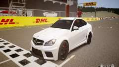Mercedes-Benz C63 AMG Stock Wheel v1.1 para GTA 4