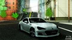 Subaru BRZ v2 para GTA San Andreas