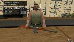 O novo AK-47 para GTA San Andreas