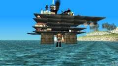 Plataforma de petróleo em Los Santos