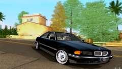 BMW 730i E38 FBI para GTA San Andreas