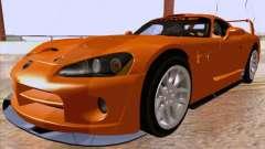 Dodge Viper GTS-R Concept para GTA San Andreas