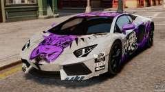 Lamborghini Aventador LP700-4 2012 Galag Gumball para GTA 4