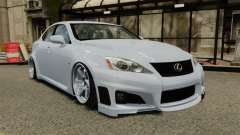Lexus IS F 2009 para GTA 4