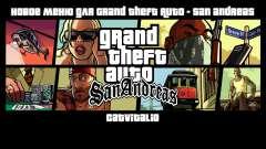 Novo menu de CatVitalio para GTA San Andreas