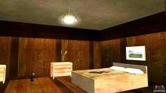 Novas texturas para a casa de CJ para GTA San Andreas
