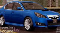Subaru Legacy B4 2010 para GTA San Andreas