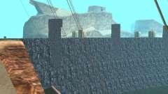 A nova barragem para GTA San Andreas