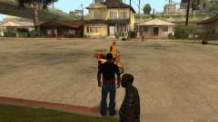 CJ com fome, v. 3 final para GTA San Andreas