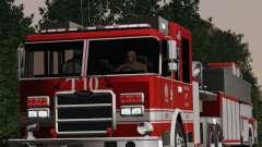 Pierce Arrow XT LAFD Tiller Ladder Truck 10 para GTA San Andreas