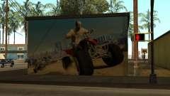 Cartaz de GTA 5 para GTA San Andreas