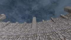 A nova estrutura da barragem para GTA San Andreas