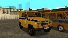 Polícia de 3151 UAZ