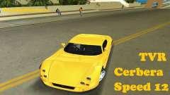 TVR Cerbera Speed 12 para GTA Vice City