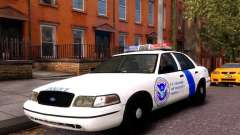 Ford Crown Victoria Homeland Security para GTA 4