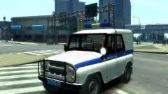 UAZ 31512 polícia