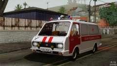 RAF 22031 Latvija ambulância