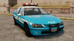 Declasse Merit Police Cruiser ELS para GTA 4