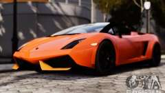 Lamborghini Gallardo LP570-4 Spyder para GTA 4